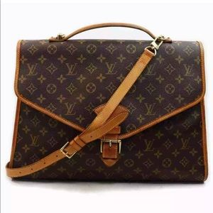 Louis Vuitton Beverly with strap (briefcase)